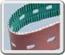 Зубчатые ремни ремни с толкателями, направляющими и перфорацией
